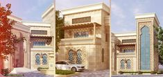 modern islamic house architecture - Google Search