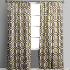 Icon Panels - Citrus/Grey from Z Gallerie