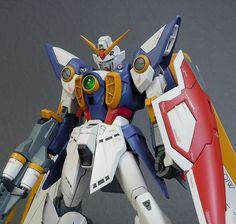 MG 1/100 Wing Gundam  Modeled by manabu09
