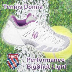 #Tennis Donna: #KSwiss Performance Bigshot Light