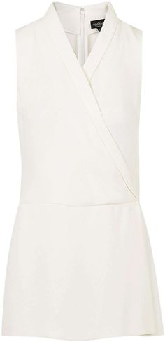 Womens ivory playsuit from Topshop - £15 at ClothingByColour.com
