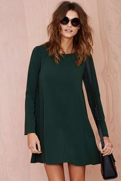 Green Swing Dress