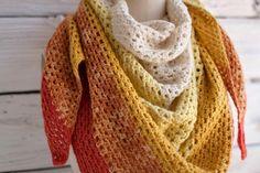 10 free #crochet shawl patterns on Craftsy - granny crochet shawl
