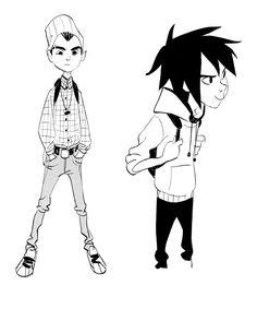 Novos desenhos de Shiyoon Kim para Big Hero 6! | THECAB - The Concept Art Blog