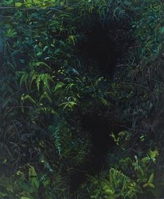 "Holes, 2017, Oil on canvas, 72 x 60"""