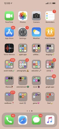 Iphone Home Screen Layout, Iphone App Layout, Organize Apps On Iphone, Apps For Girls, Iphone Life Hacks, Whats On My Iphone, Aesthetic Phone Case, Xmax, Mobile App