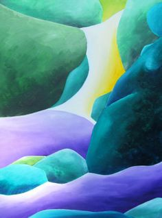 Falling for the Water - Jennifer Hannigan-Green
