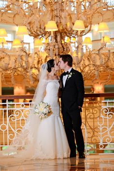 The lobby of Disney's Grand Floridian Resort & Spa never looked so magical. Photo: Chris at Disney Fine Art Photography