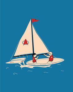 Star sailors. #startrek #sailing