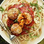 Pastel de polenta y pollo - comida sana