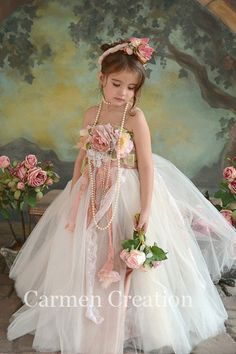 Fairy Dress Heather by CarmenCreation on Etsy, overload cuteness