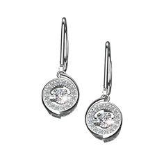 Sterling Silver Everlasting Love Earrings