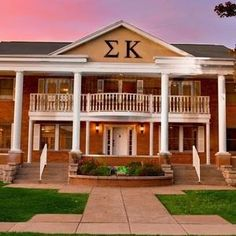 Sigma Kappa house at Missouri State... why can't IUP have sorority houses
