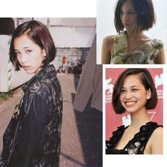 #shorthair #bob #KikoMizuhara #Japanese #model