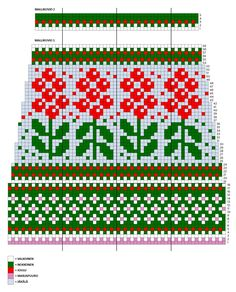 Fair Isle Knitting Patterns, Knitting Charts, Knitting Socks, Knit Patterns, Hand Knitting, Fair Isle Chart, Knit Art, Loom Weaving, Mittens