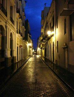 Streets at Old San Juan.