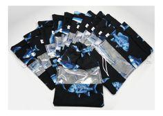 Saquinho plastificado porta biquíni - peixes