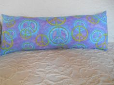 L56 SALE    Peace Sign Novelty Pillow Lumbar by NoveltyPillows4All, $15.00