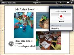 iBook Lessons Book Creator for iPad Animal Projects, Art Projects, Book Creator, News Apps, Ipad Art, English Writing, Educational Technology, My Animal, Creative Writing