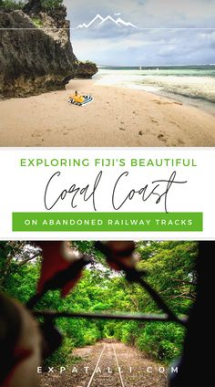 Glide through lush forests, past friendly villages and along open fields on an abandoned Coral Coast railway line during a fun Ecotrax tour in Fiji! Visit Fiji, Visit Maldives, Visit Australia, Australia Travel, Fiji Coral Coast, Fiji Culture, Fly To Fiji, Scuba Diving Australia, Fiji Beach