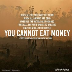 When will greedy corporations stop and think who will buy their crap when most of us are dead or dying? Save Planet Earth, Save Our Earth, Save The Planet, Conservative Quotes, Who Will Buy, Words Quotes, Sayings, Choose Life, Healthy Environment