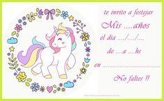 Resultado de imagen para candy bar de unicornio Unicorn Birthday Invitations, Unicorn Birthday Parties, Unicorn Party, Baby Frame, Troll Party, Invitation Background, Festa Party, Pony Party, Rainbow Unicorn