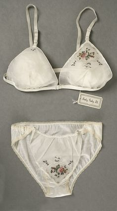 Hanky Panky's first design in the permanent collection of the Costume Institute at the Metropolitan Museum of Art.