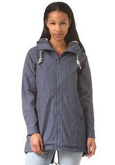 MAZINE Library Light - Jacke für Damen - Blau - Planet Sports