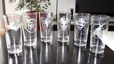 grabado (dremel) nutrition of avocado - Nutrition Vinyl Glasses, Cool Glasses, Stencil Vinyl, Cricut Vinyl, Mason Jar Crafts, Bottle Crafts, Vasos Vintage, Etched Glassware, Dremel Projects