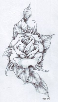 black rose tattoo ideas | Rose Tattoo I Am Getting As A 16th Birthday Present From My Mum L