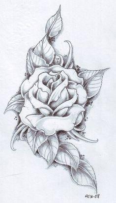 black rose tattoo ideas | Rose Tattoo I Am Getting As A 16th Birthday Present From My Mum L