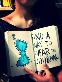 Find a way to wear the journal sur We Heart It. http://weheartit.com/entry/52644401/via/camilla_albuquerque