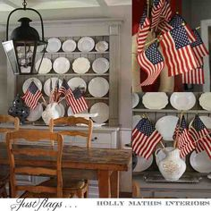 Built in cabinets via Holly Mathis Interiors.http://www.hollymathisinteriors.com/2011/07/flags-happy/