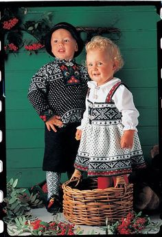 How cute are these little Norsk kiddos