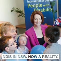 NDIS in NSW. Now a reality.