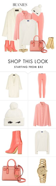 """""""outfit 5601"""" by natalyag ❤ liked on Polyvore featuring Donna Karan, Piazza Sempione, Kate Spade, Uniqlo, M Missoni, GANT, MICHAEL Michael Kors, Gucci and Restelli"""