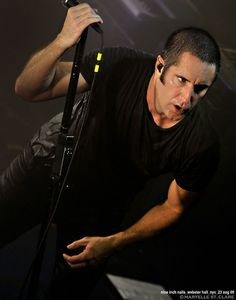 This is a test.    Trent Reznor, 2009. © maryelle st. clare, all rights reserved. Webster Hall. I was lucky to be one of the approximately 450 people at this show. Good times, good friends.     Please, if you like this picture, SHARE it, like it, repin it. Don't download and reupload. Thanks.