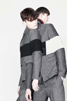 Kris Van Assche photographer: Bruno Staub Art Director: Nicolas Santos stylist: Mauricio Nardi hair: Joseph Pujalte make: Carole Colombani