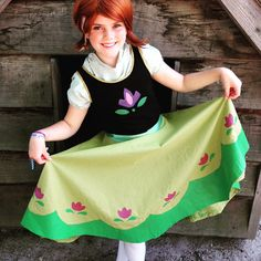 Young Anna cosplay