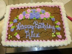 My co workers cookie cake