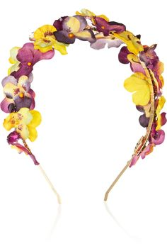 Eugenia Kim | Parker paper-flower and crystal headband | NET-A-PORTER.COM