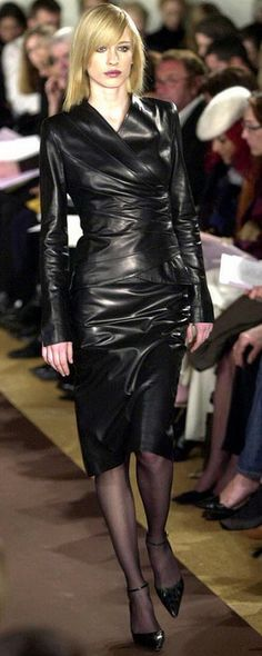 Lovely and exotic leather outfit - love it