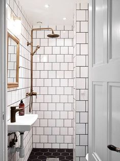 On Choosing Bathroom Tile   Little Green Notebook   Bloglovin'