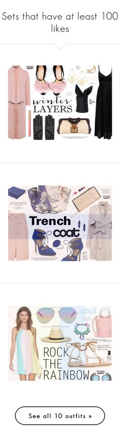"""""""Sets that have at least 100 likes"""" by katarina-blagojevic ❤ liked on Polyvore featuring MustHave, winter2015, yoins, Bionda Castana, Miu Miu, Mrs. President & Co., women's clothing, women's fashion, women and female"""