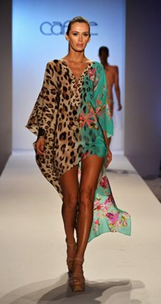 192ff40da0 Caffé Swimwear love the colours in this kaftan great against a golden tan ( spray on of course) it also has my essential touch of animal print.