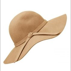 Tan Floppy Wool Hat 100% wool. Never been worn. Got as a gift but hats never fit my head. Other