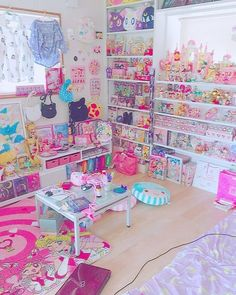 Cute and Kawaii Room Ideas for Your Daughters. Cute and Kawaii Room Ideas. The room is the most comfortable and private place in the world. In the room we can do our favorite activities from sleepi. Room Ideas Bedroom, Girls Bedroom, Bedroom Decor, Bedrooms, Cute Room Ideas, Cute Room Decor, Dream Rooms, Dream Bedroom, My Room