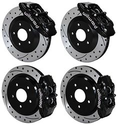 NEW WILWOOD BLACK FRONT & REAR DISC BRAKE KIT FOR 97-13 CORVETTE C-5 C-6 Z06, CALIPERS, ROTORS, PADS, 1997 1998 1999 2000 2001 2002 2003 2004 2005 2006 2007 2008 2009 2010 2011 2012 2013:   Brand New Wilwood Corvette Stock Replacement Brake Set for the Front and the Rear./b ul /p Complete Brake Kit Includes:/b ul liSPC56 Caliper, Pad, and Drilled Rotor Kit (Part # 140-15175-D) for both Front Wheels liDPC56 Caliper, Pad, and Drilled Rotor Kit (Part # 140-15176-D) for both Rear Wheels li...