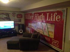 Miller Beer Billboard