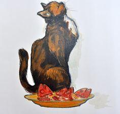 Illustration by Amy Bates in Susanna Reich's Children's Book